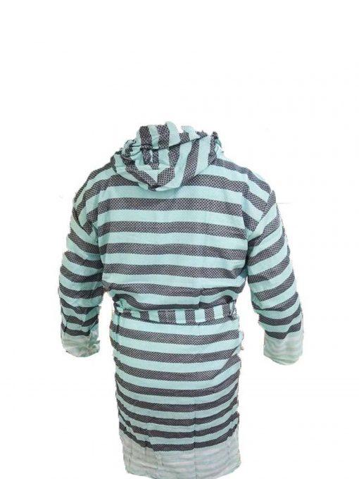 traditional black peshtemal bathrobe 510x680 - Traditional Black Peshtemal Bathrobe