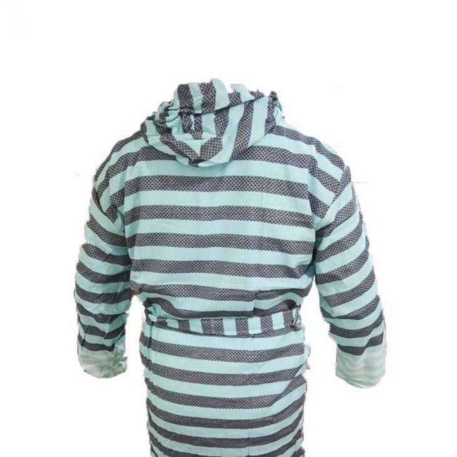 traditional black peshtemal bathrobe scaled 650x650 - Traditional Black Peshtemal Bathrobe