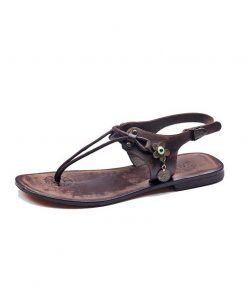 turkeyfamousfor handmade bodrum sandals left 221 1892 247x296 - Leather Strapped Brown Sandals