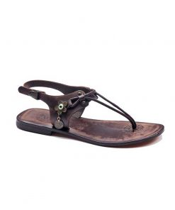 turkeyfamousfor handmade bodrum sandals right 221 1892 247x296 - Leather Strapped Brown Sandals