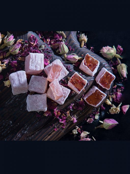 turkish delight with natural rose 1 510x680 - Turkish Delight with Natural Rose
