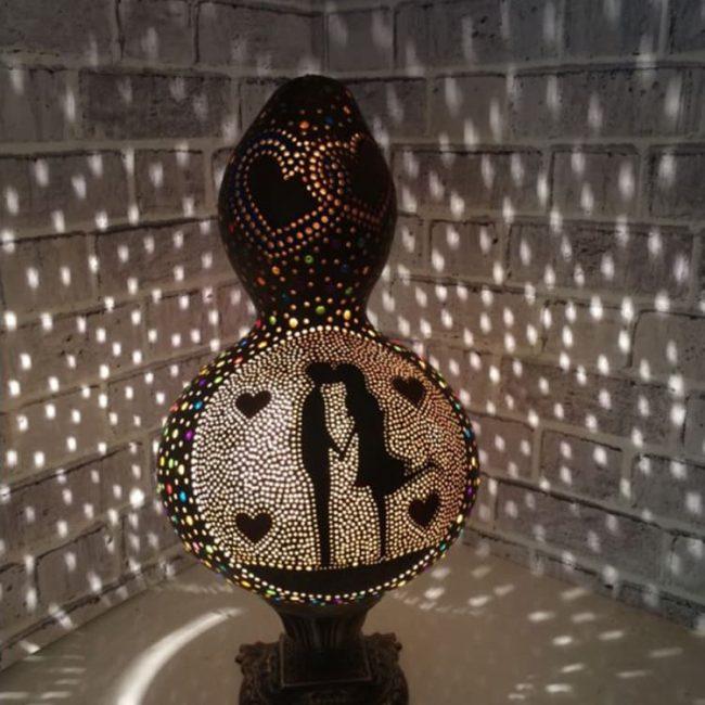 valentines-gourd-lamp-handmade-gourd
