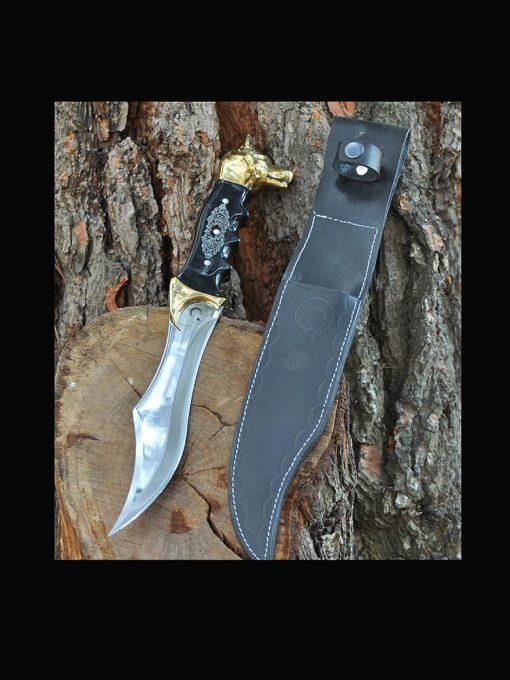 wolf head dagger 8 510x680 - Wolf Head Dagger