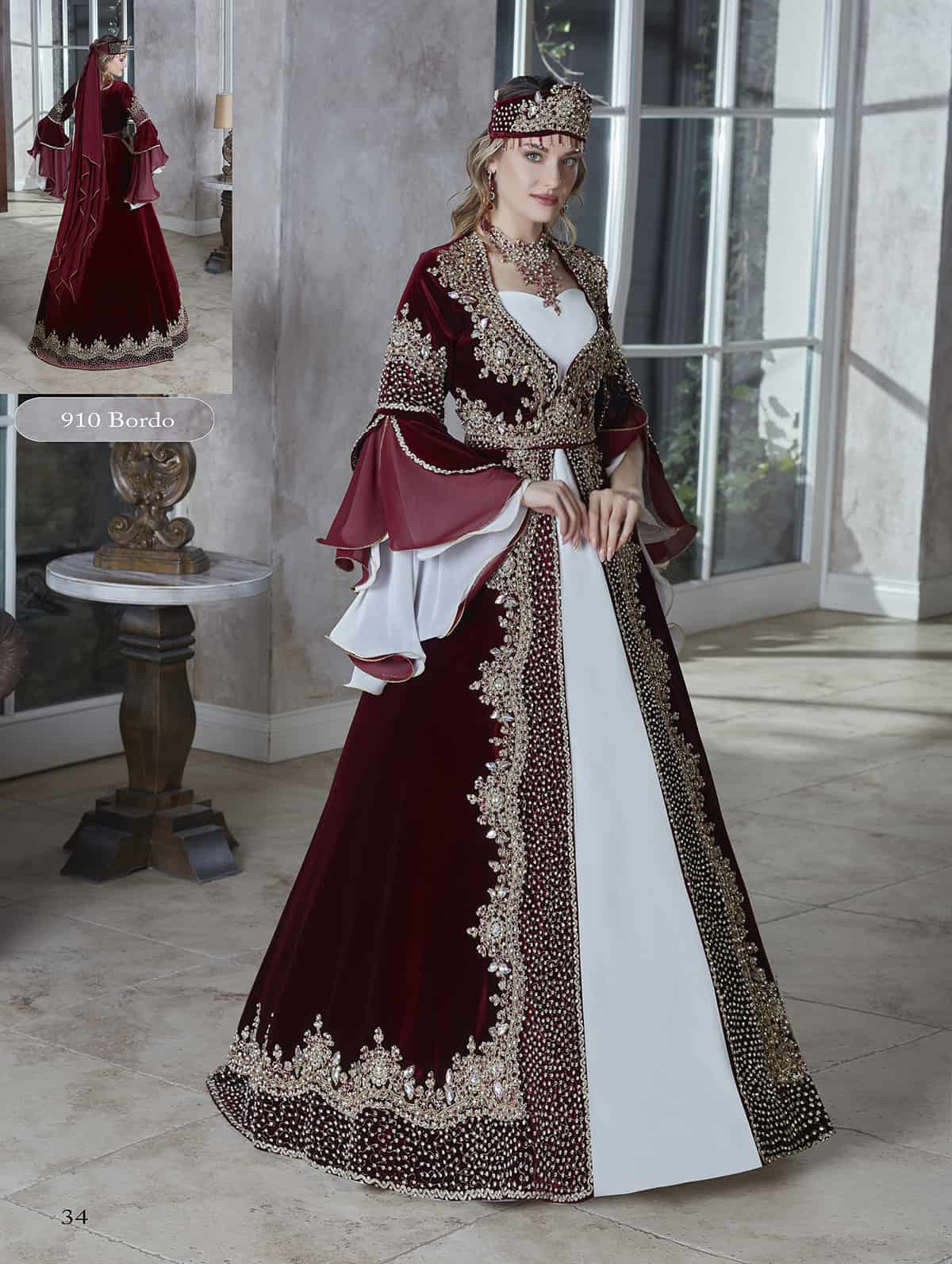 Gorgeous Caftan Set Elegant Bridal Dress Luxury Caftans Caftan