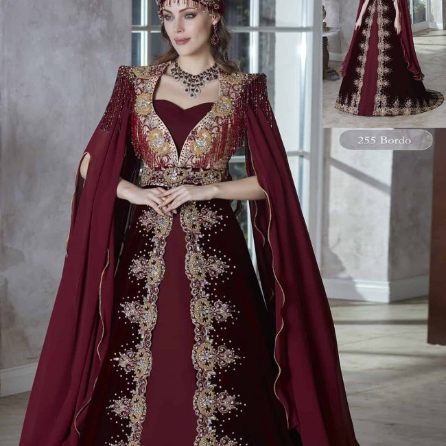 hurrem sultan henna turkish kaftan dresses wedding dresses long sleeve plus size custom made