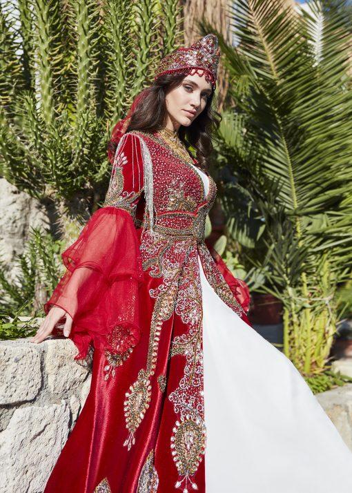 moroccan traditional ethnic caftan dress kaftan