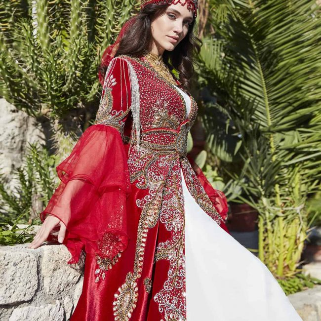 moroccan traditional ethnic caftan dress kaftan