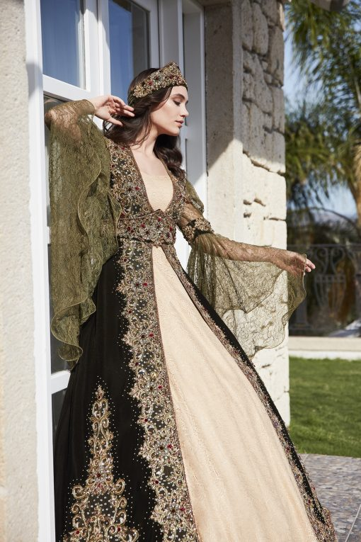 long ball dresses with sleeves