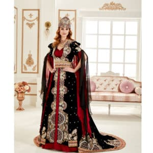 Royal Kaftan Dress (2)