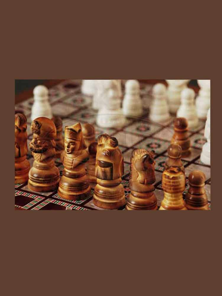 S 101 2 1 - Meerschaum Chess Set