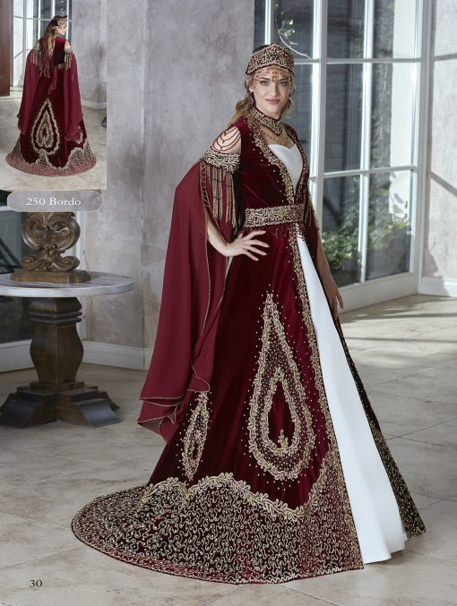 fancy designer burgundy gold sequin long formal evening party kaftan gown dresses with embellished fancy long slit sleeves