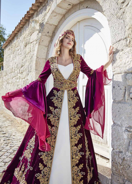 embellished wedding kaftans muslim arabic evening dresses