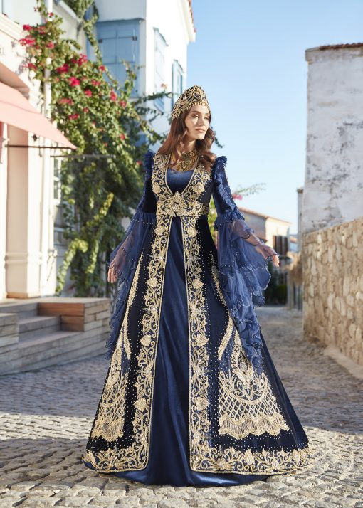 plus size ottoman turkish traditional evening formal dresses