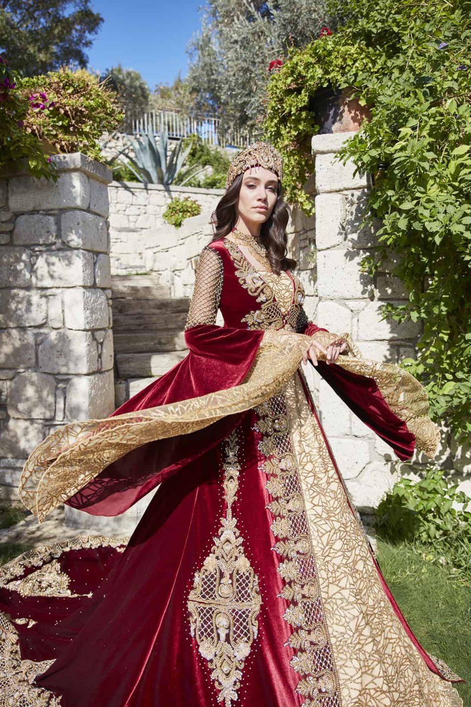 designer ottoman style sultan formal evening dresses