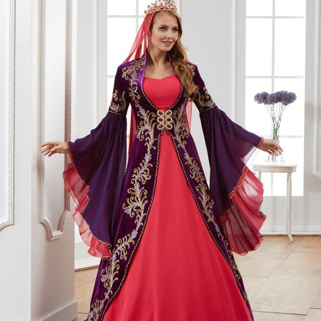 purple-caftan-set