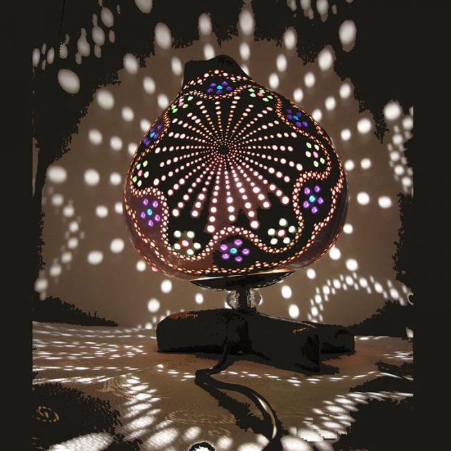 sun-beads-gourd-lampshade