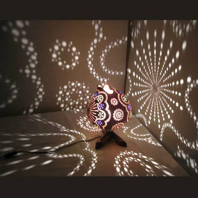 Sun beads Gourd Lampshade 6 1 650x650 - Sun Beads Gourd Lampshade