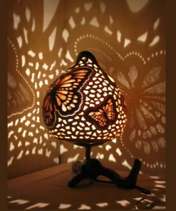 Turkeyfamousfor Butterfly Chocolate Gourd Lampshade 4 1 247x296 - Gourd Lamps