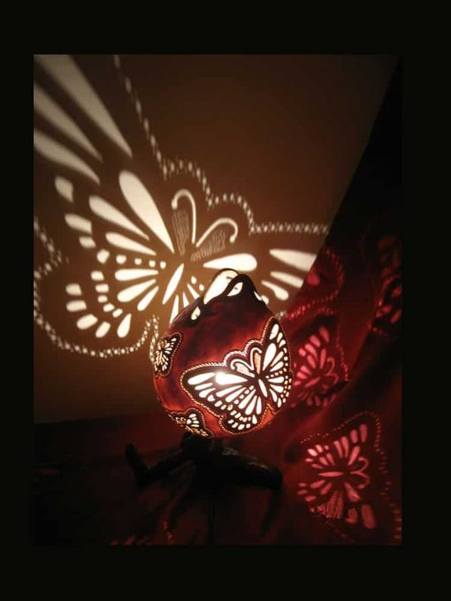 Turkeyfamousfor Butterfly Smile Gourd Lampshade 1 1 510x680 - Butterfly Smile Gourd Lampshade