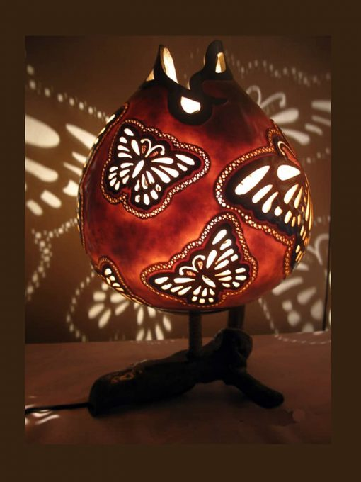 butterfly-smile-gourd-lampshade Meta description