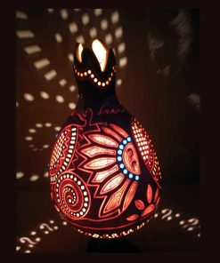 Turkeyfamousfor Colourful Gourd Lampshade 5 1 247x296 - Colorful Gourd Lampshade