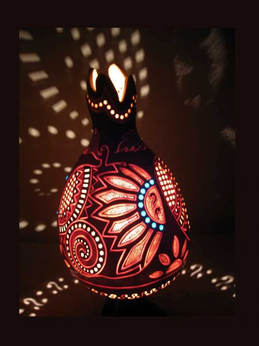 Turkeyfamousfor Colourful Gourd Lampshade 5 1 510x680 - Colorful Gourd Lampshade