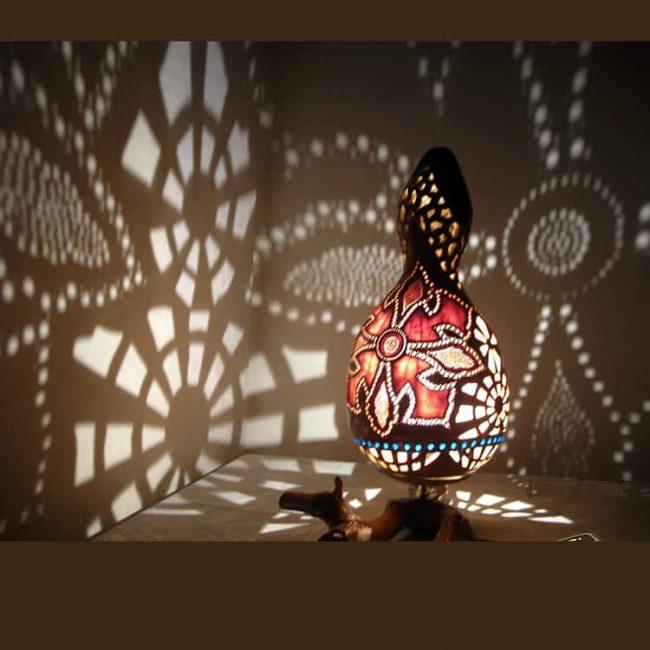 fabulous-colors-gourd-lampshade