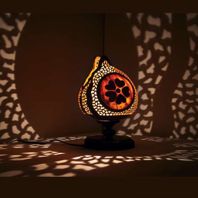 Turkeyfamousfor Flower Box Gourd Lampshade 3 1 650x650 - Gourd Lamps