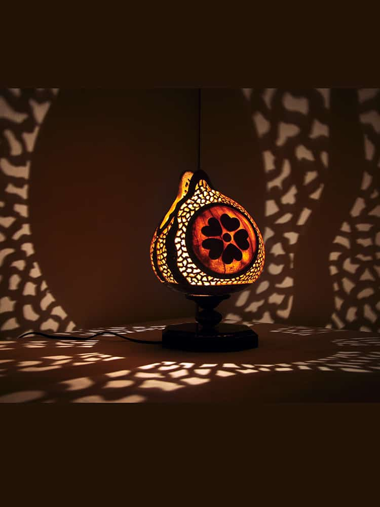 Turkeyfamousfor Flower Box Gourd Lampshade 3 1 - Gourd Lamps