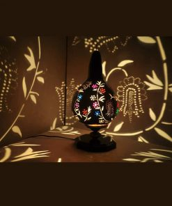 fresh-flowers-gourd-lampshade-best gourd lamps-handmade gourda-orgnic gourd lamps-exotic-handmade gourd lamps-gourd lamp pattern