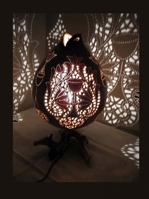 hand-carved-gourd-lampshade