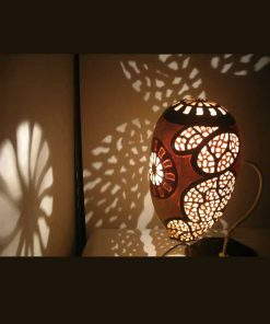 magic shadows gourd lampshade