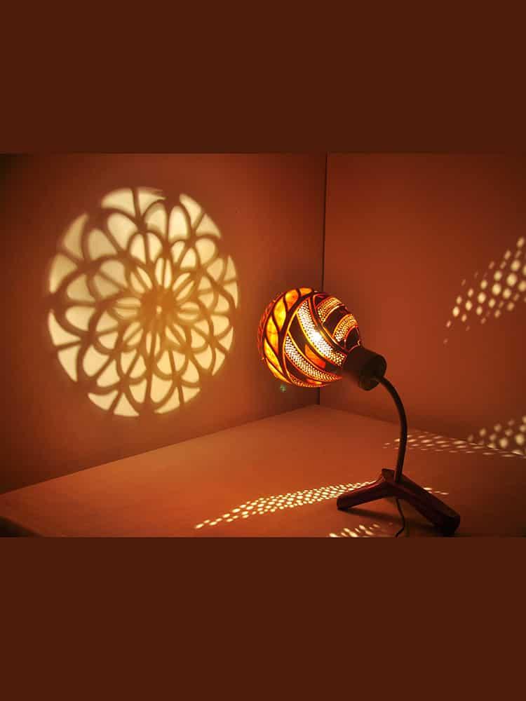 sculptural-gourd-lampshade