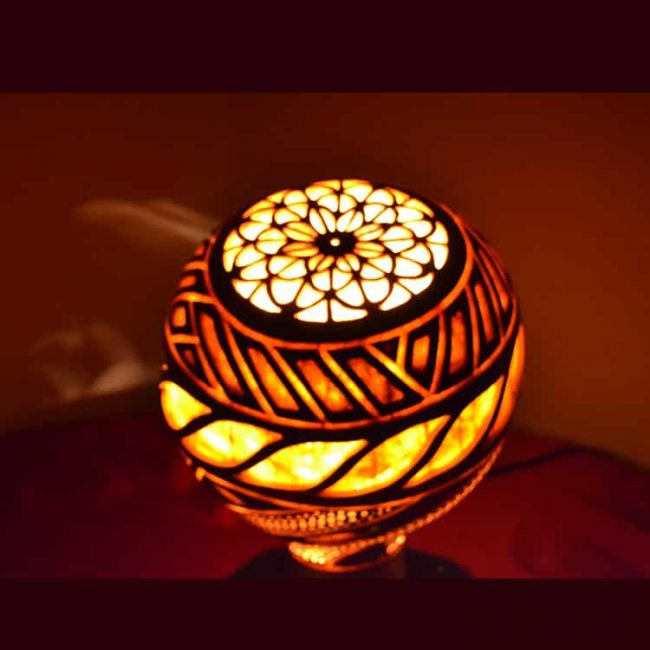 Turkeyfamousfor Sculptural Gourd Lampshade 4 1 650x650 - 20 Suggestions For a Healthy Ramadan