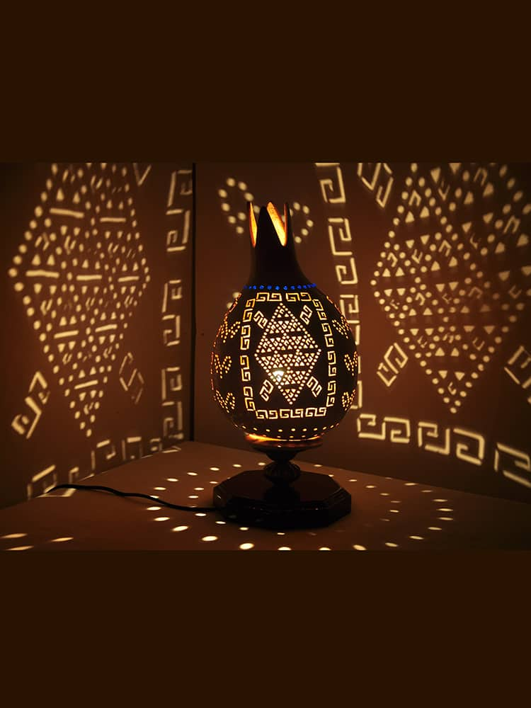 Turkeyfamousfor Turkish Motives Gourd Lampshade 3 1 - Gourd Lamps