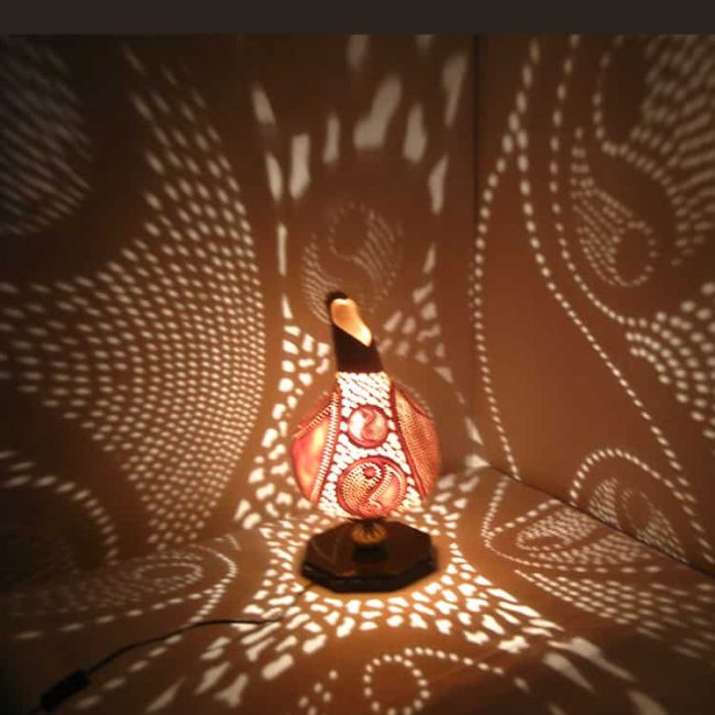 Turkeyfamousfor Ying yang Gourd Lampshade 1 1 650x650 - Gourd Lamps