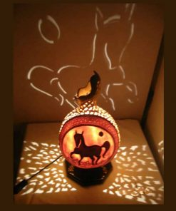 riding-horse-gourd-lampshade