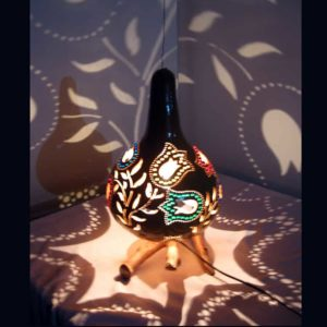 turkeyfamousfor-Decorative-Tulip-Pattern-Gourd-Lampshade-(1)