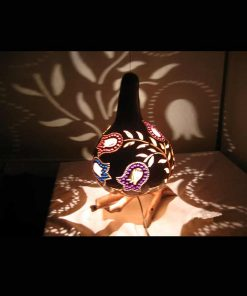 turkeyfamousfor Decorative Tulip Pattern Gourd Lampshade 2 1 247x296 - Decorative Tulip Pattern Gourd Lampshade