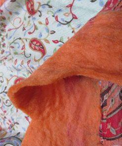 IMG 0287 247x296 - Nuno Felted Scarf Orange