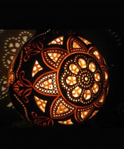 artistic carved gourd lampshade 5 247x296 - Gourd Lamps