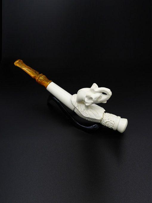 meerschaum cigarette holder an elephant new 2 510x680 - Meerschaum Cigarette Holder An Elephant