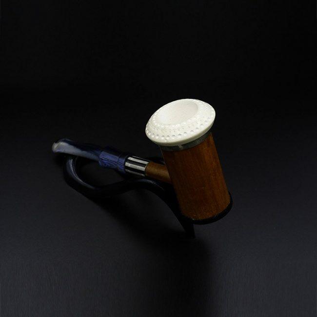 meerschaum pipe bamboo dark brown 650x650 - Meerschaum Pipe Bamboo Dark Brown