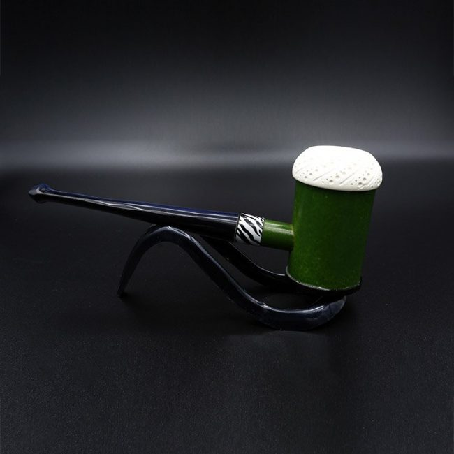meerschaum-pipe-bamboo-green-hand-carved