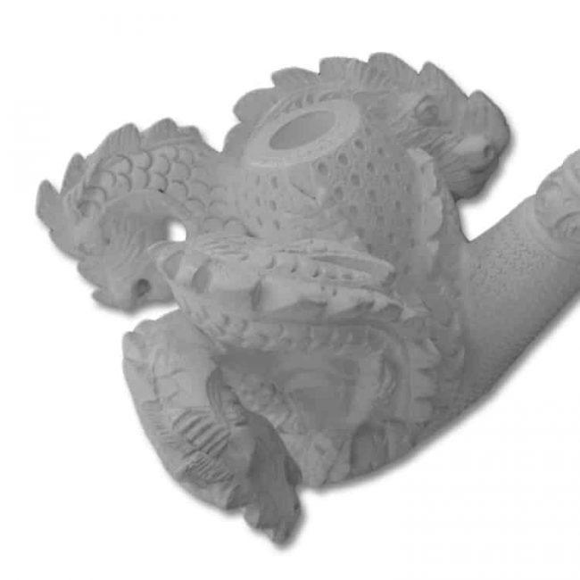 meerschaum pipe dragon family 1 650x650 - Meerschaum Pipe Dragon Family