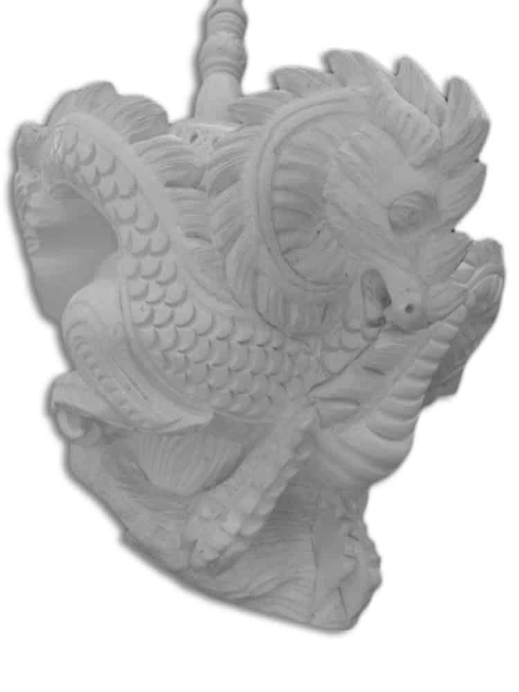 meerschaum pipe dragon family 3 - Meerschaum Pipe Dragon Family