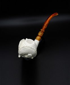 meerschaum pipe dragon hand carved new 2 247x296 - Meerschaum Pipe Dragon Hand Carved
