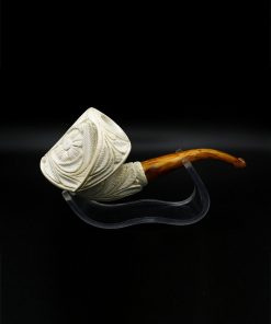 meerschaum pipe floralli hand carved new 2 247x296 - Meerschaum Pipe Floralli Hand Carved
