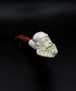 meerschaum pipe old man hand carved new 1 247x296 - Meerschaum Pipe Old Man Hand Carved