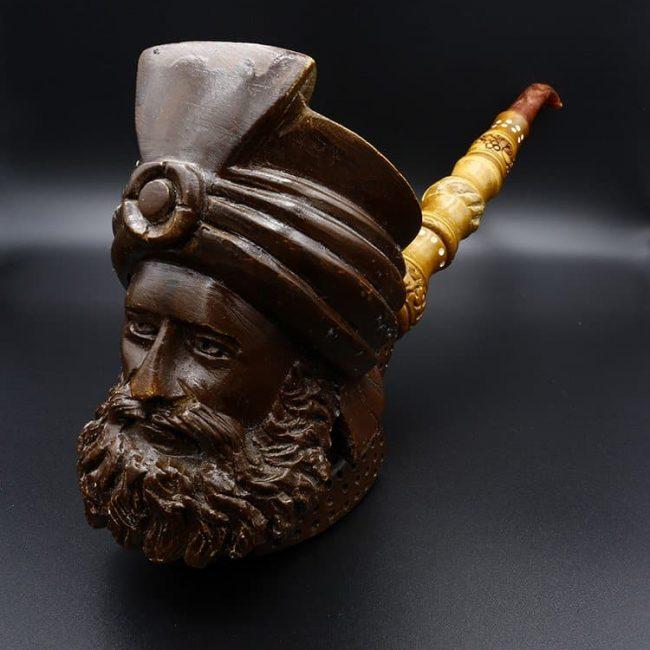 meerschaum pipe ottoman pasha new 1 650x650 - Meerschaum Pipe Ottoman Pasha